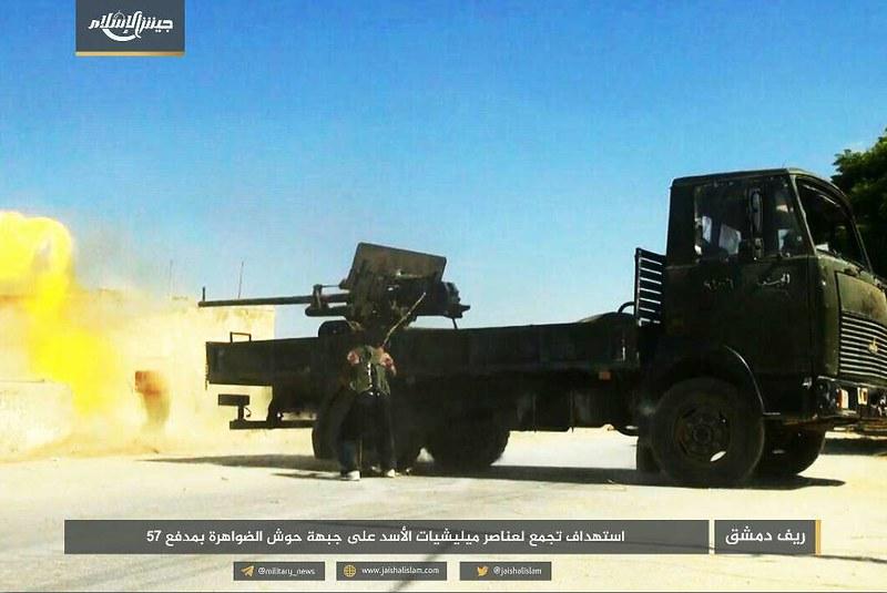 57mm-ZIS-2-on-MAZ-jaish-al-islam-syria-c2017-spz-1