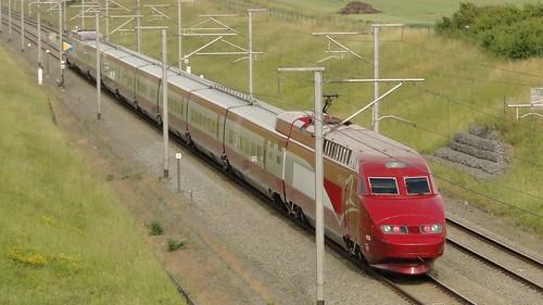 Belgian High Speed Lines - PBA-trainset.