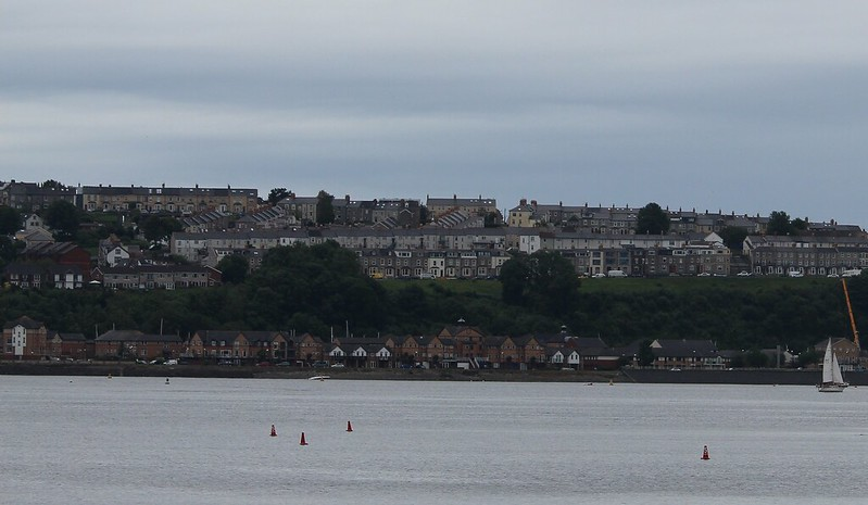 View of Penarth from Cardiff Bay