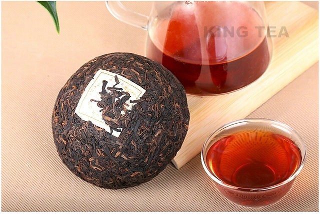 Free Shipping 2006 ShuangJiang MengKu Tuo Bowl Yun Nan Organic Pu'er Ripe Tea Cooked Shou Cha Weight Loss Slim Beauty