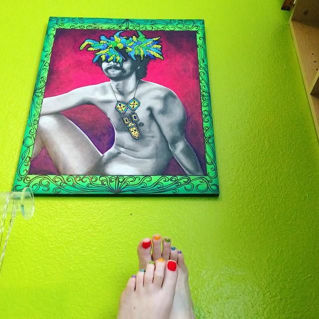 Rainbow toes 🌈✨✨
