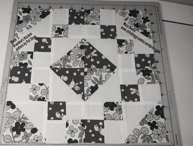 Block 3 in black and white