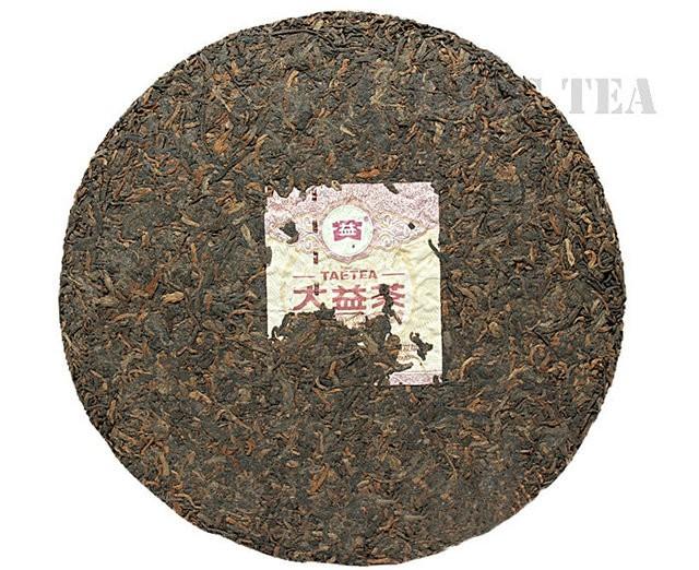 Free Shipping 2012 TAE TEA DaYi 7262 Beeng Bing Cake 357g YunNan MengHai Organic Pu'er Pu'erh Pu-erh Puerh Ripe Cooked Tea Shou Cha