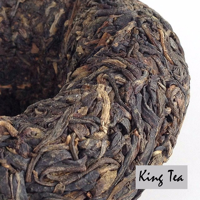 Free Shipping 2010 XiaGuan JiaJi Tuo 100g China YunNan KunMing Chinese Puer Puerh Raw Tea Sheng Cha Slim Beauty Weight Loss