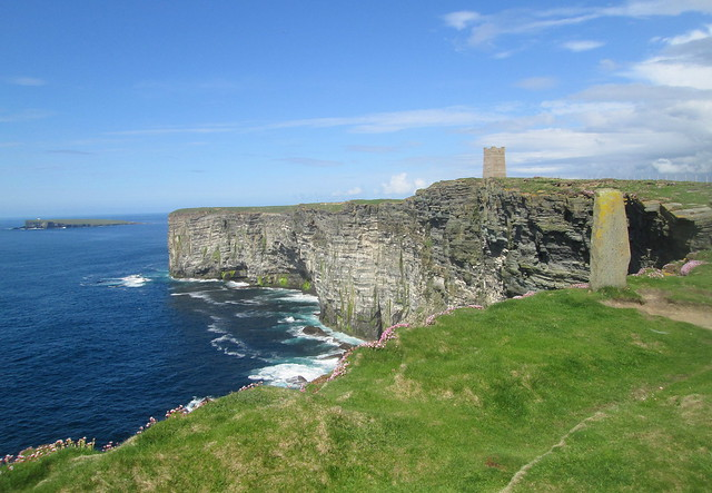 Marwick Head, Orkney, and Kitchener Memorial