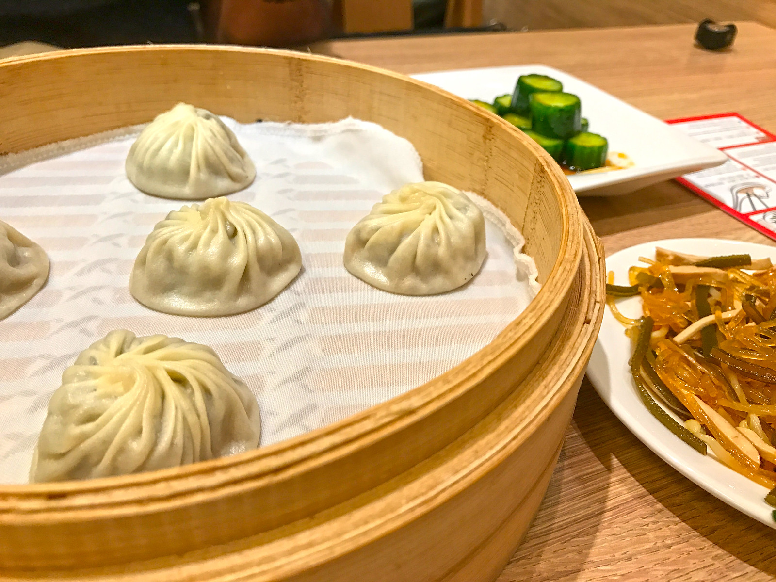Truffle and meat xiaolongbao