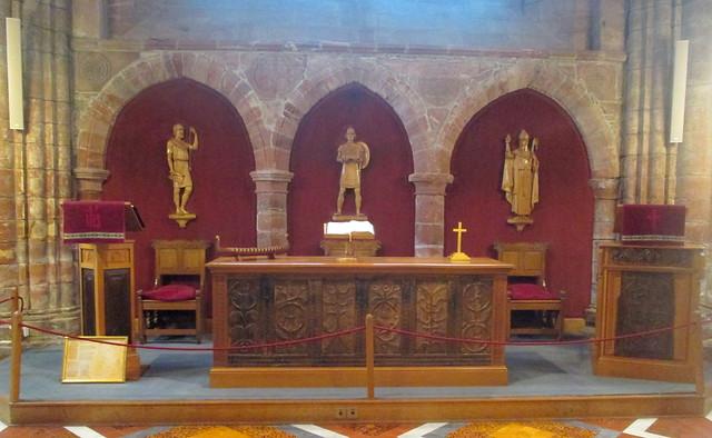 St Magnus Cathedral altar