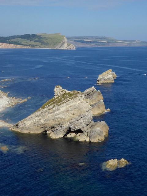 Mupes Bay rocks