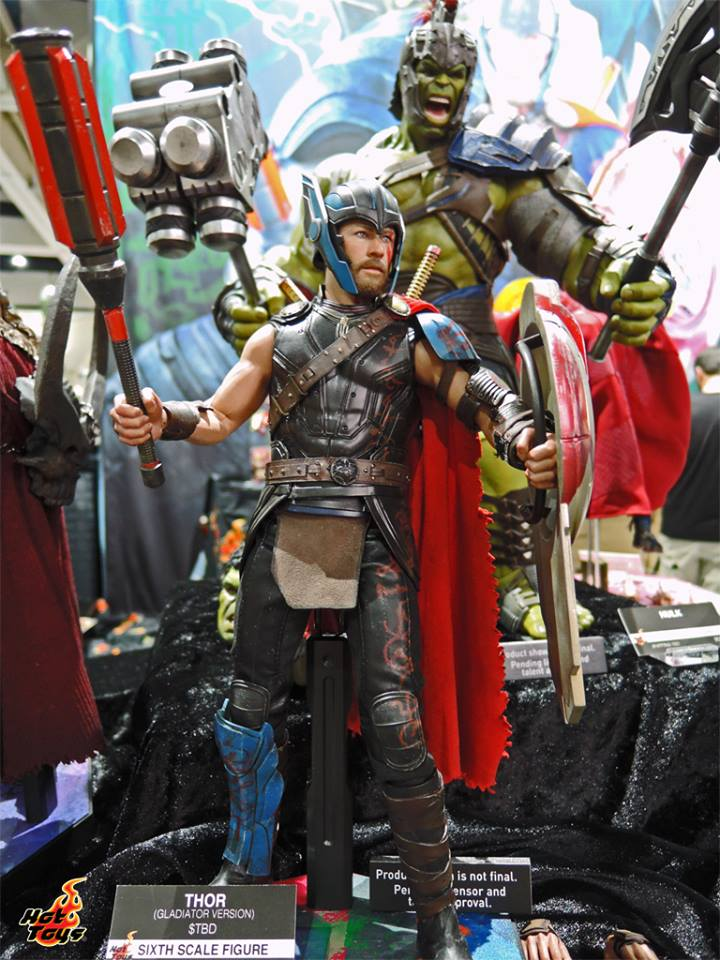Hot Toys Thor Gladiator Version