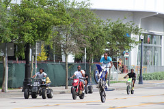wheelie down biscayne Blvd.