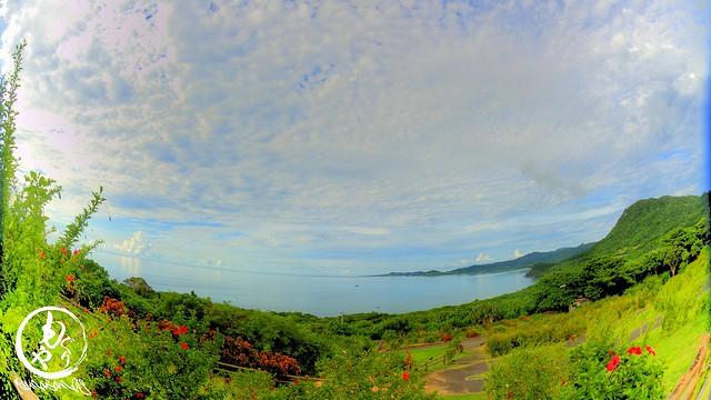 玉取崎から見る海もとっても静か