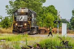 NS 5836   EMD GP38-3   NS Memphis District