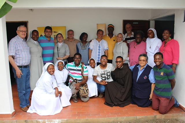 2017-07-17 2do día del Encuentro de Religiosos y Religiosas Comprometidas/os con la Pastoral Afro