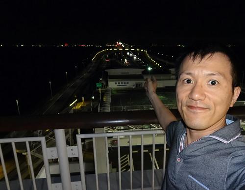 海ほたるからの夜景
