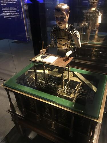 Automaton Draughtsman Writer, Science Museum Robots Exhibition