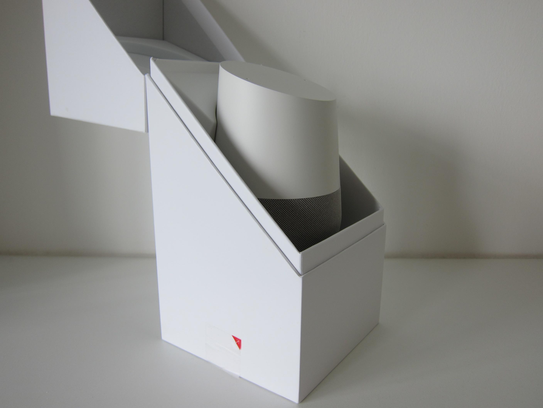 Google Home U2013 Box Open Google Home   Box Open