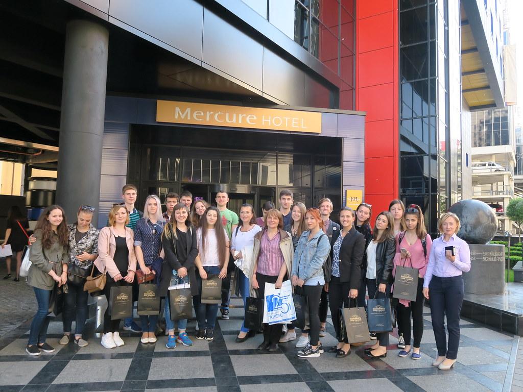 Екскурсія до готелю «Mercure Hotel» з турагентством «СвітОгляд»