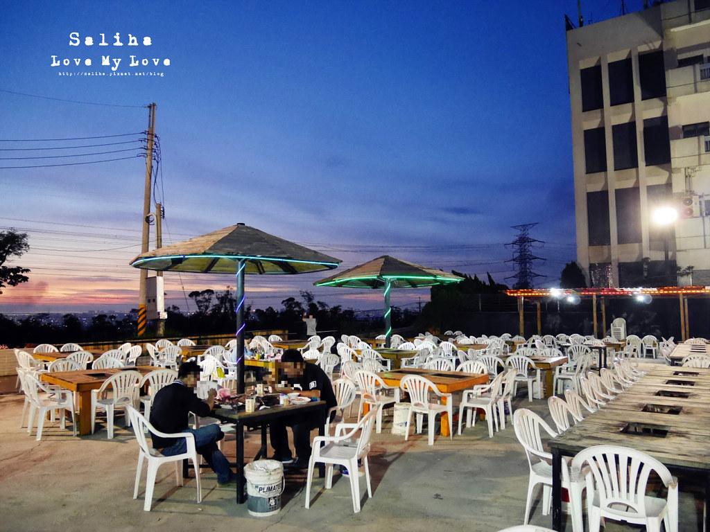 台中沙鹿區夜景餐廳推薦蠔膽你來露天燒烤吃到飽 (16)