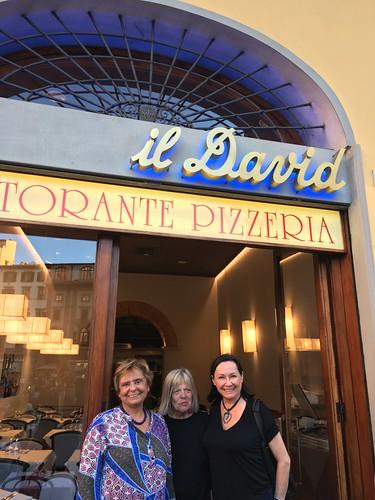 Giovanna, Bobbi and me