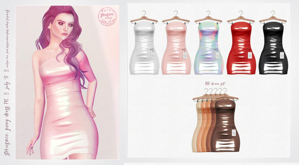 Stories&Co. by Flowey / Ginny Dress - July'17 - SecondLifeHub.com
