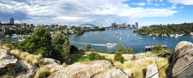 Berry's Bay Lookout Waverton - OPPO R11 photo example panorama