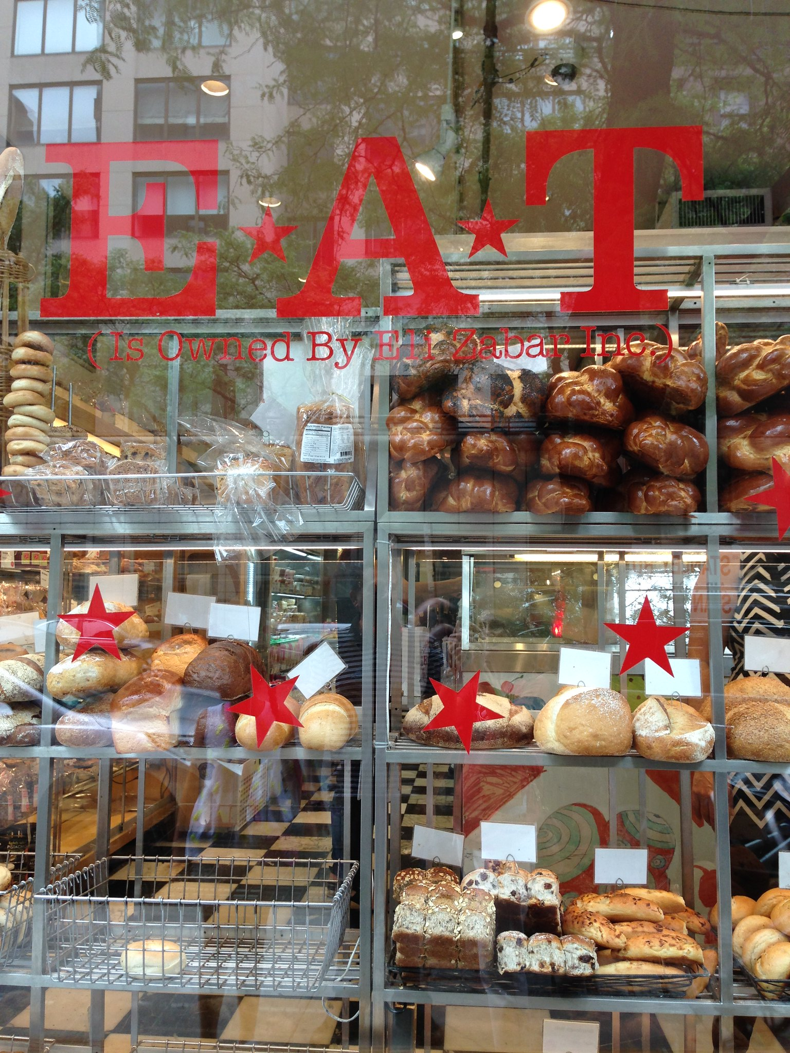 EAT, Upper East Side, NYC. Nueva York