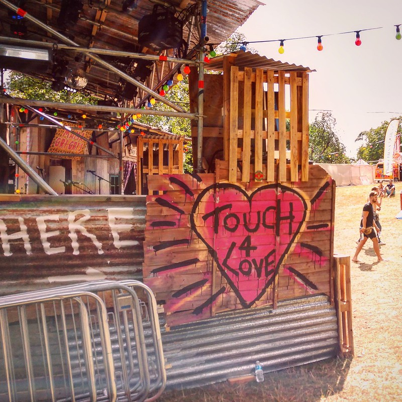 Touch For Love at Wilderness Festival