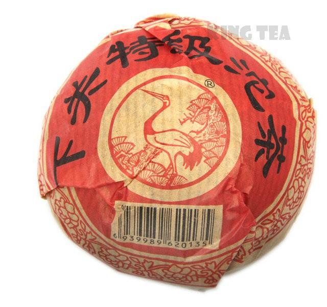 Free Shipping 2011 XiaGuan TeJi Tuo Bowl 100g YunNan MengHai Organic Pu'er Raw Tea Weight Loss Slim Beauty Sheng Cha