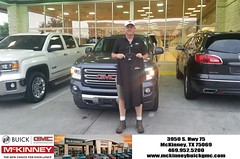 #HappyBirthday to Joel from Kevin St Louis at McKinney Buick GMC!