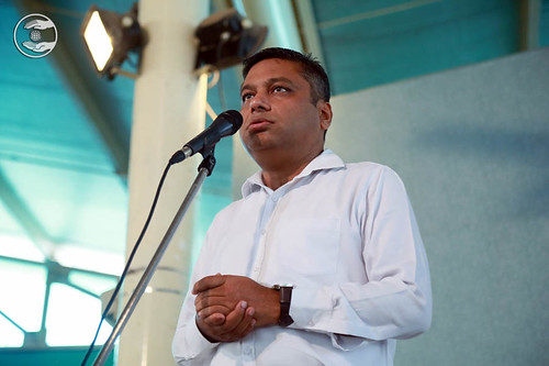 Avinash Garg from Vasant Kunj, expresses his views
