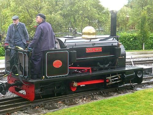 'Sybil Mary' 0-4-0ST at the 'Statfold Barn Railway' on 'Dennis Basford's railsroadsrunways.blogspot.co.uk