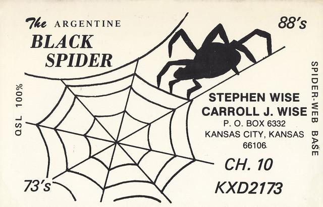 The Argentine Black Spider - Kansas City, Kansas