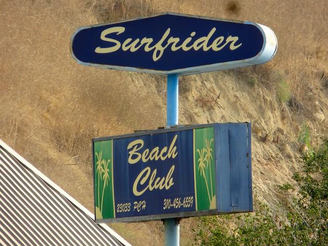 goodbye, surfrider beach club