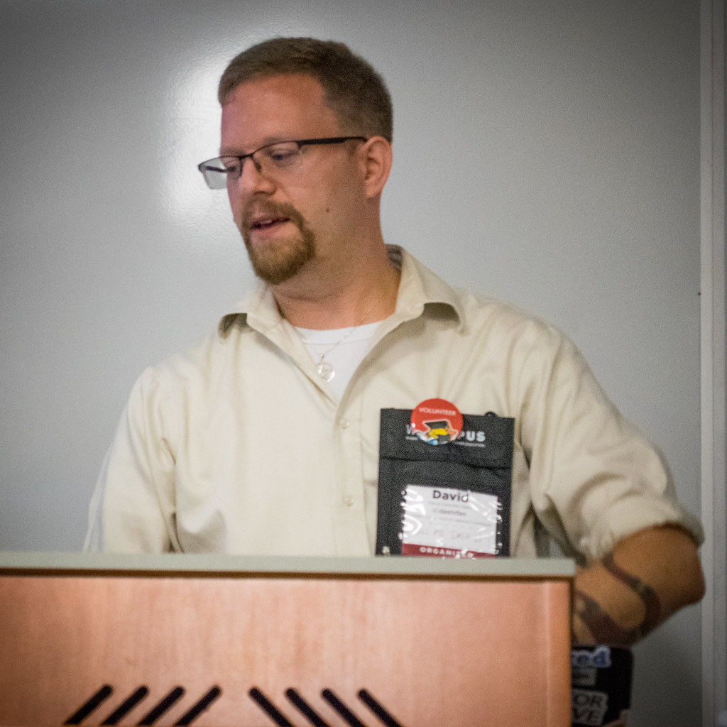 David Dashifen Kees at WPCampus 2017