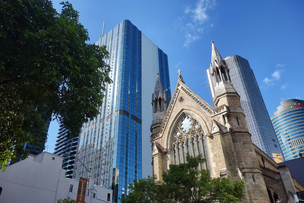Brisbane - CBD Cathedrale Saint Stephen 1