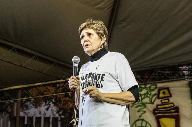 """Maricato: """"Sem dúvida nenhuma, os movimentos sociais constituem o coração do projeto"""" - Créditos: Levante Popular da Juventude/Divulgação"""