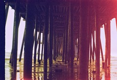 Pismo Pier at Dawn - 1907/10 Kodak No 2  Brownie Model C Crossbird 200