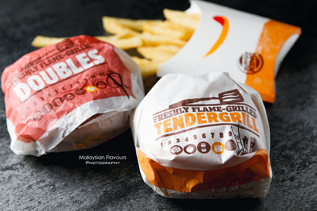 Burger King Rendang Beef Burger