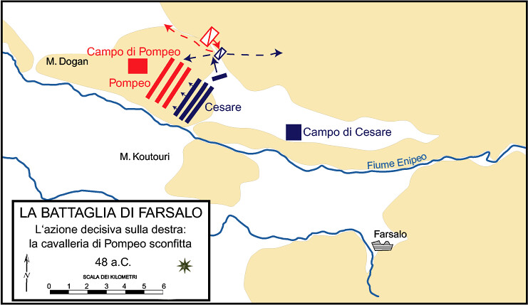 Plan of Battle of Pharsalus