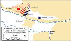 Plan of Battle of Pharsalus