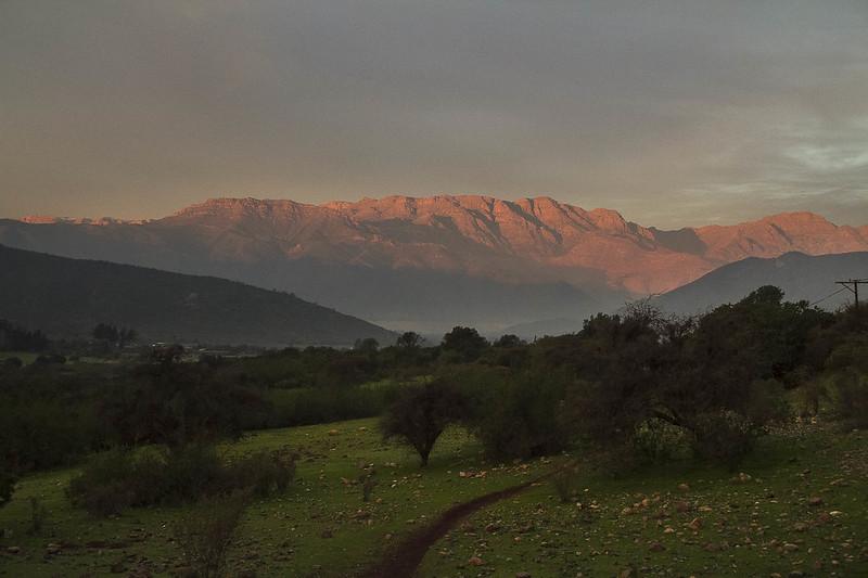 la Cordillera de El Melón
