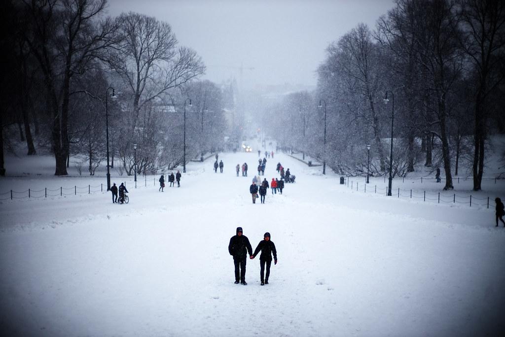 Oslo in winter