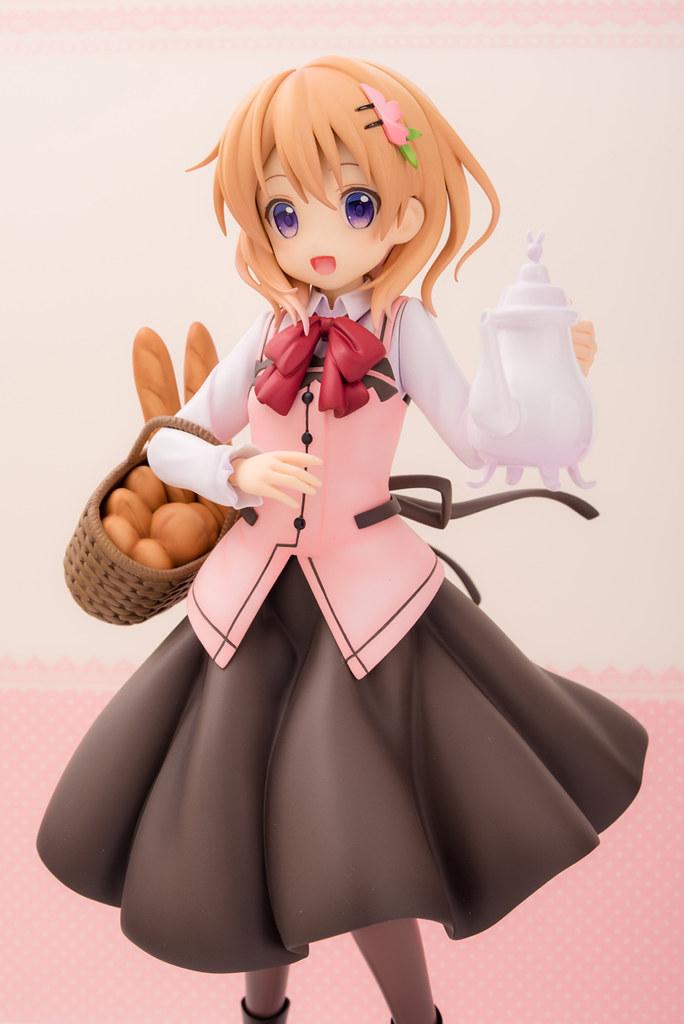 清新可愛的空氣感!PLUM《請問您今天要來點兔子嗎?》 保登心愛 ココア(Cafe Style)1/7 比例模型