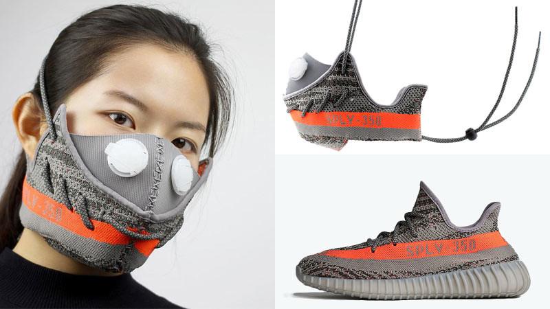 Masker polusi karya Wang Zhijun