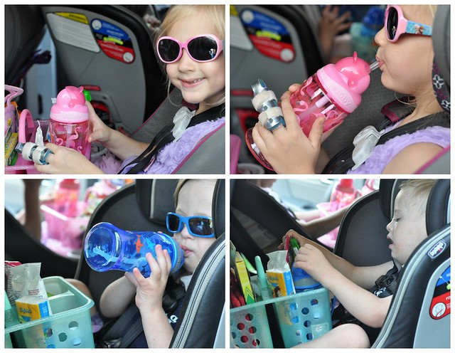 The Road Trip Survival Kit Caddy for Kids - Road Trip Ideas