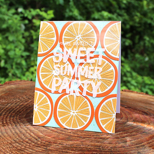 Sweet Summer Party Invitation