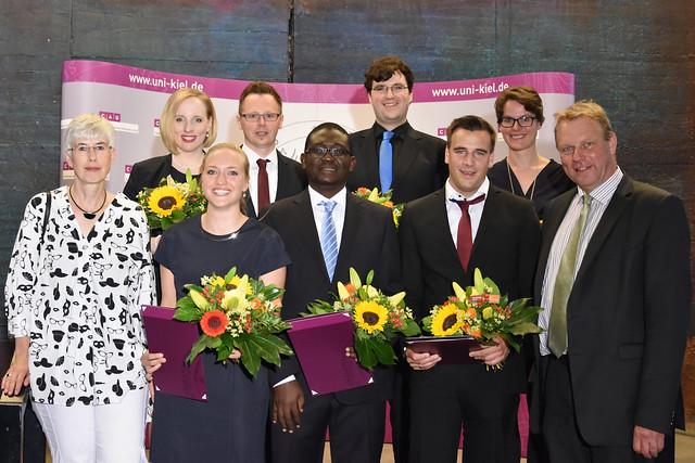 Verleihung der Fakultätspreise und des Genderforschungspreises