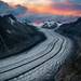 Aletsch Glacier by Sandro Bisaro