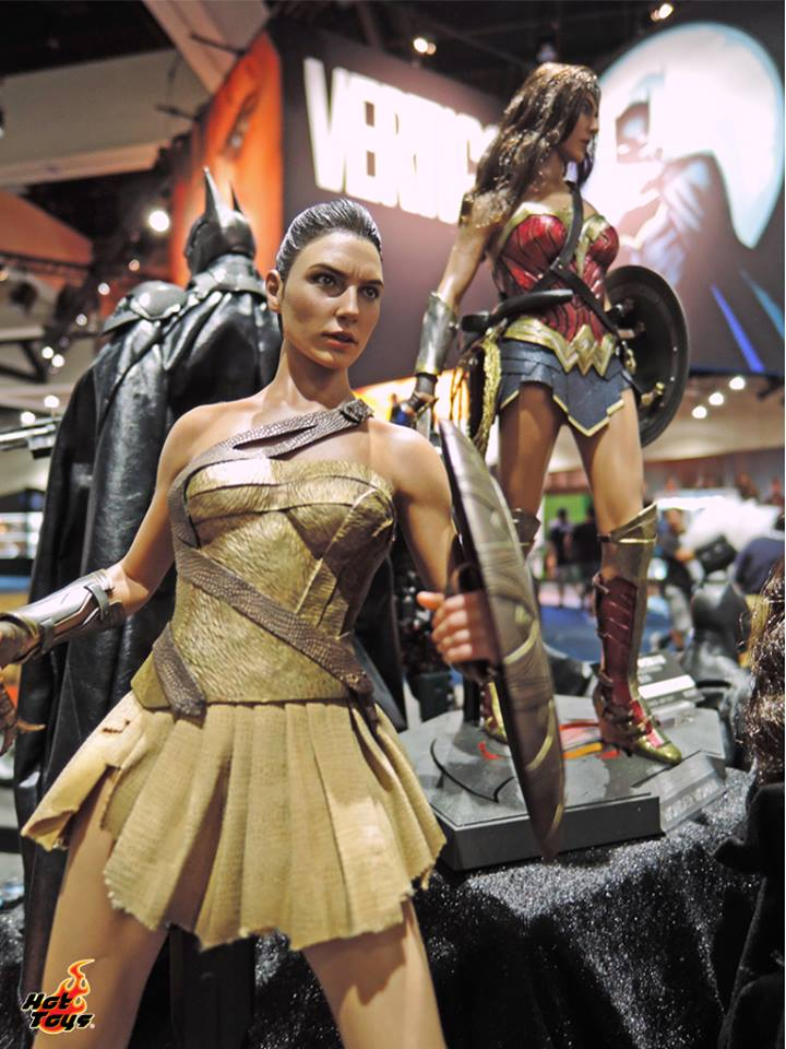 Hot Toys Wonder Woman Training SDCC2017