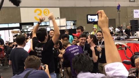 QUT's Cartman wins Amazon Robotics Challenge
